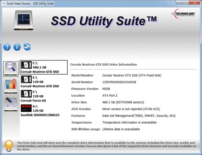 TRIM SSD, SMART, wipe, solid state, firmware, alerting, monitoring