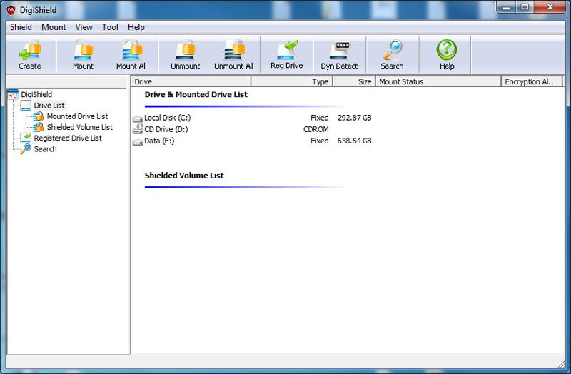 Digi-Shield (PC) screen shot