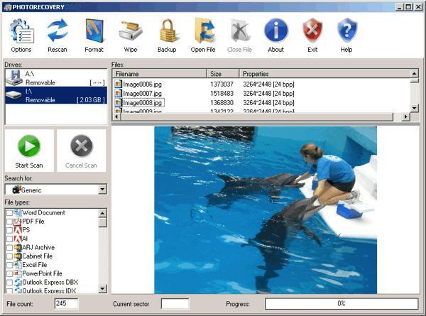 PHOTORECOVERY Professional 2010 for PC screenshot