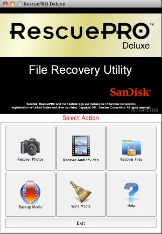 RescuePRO™ Deluxe recovers images, movies, sound files and more