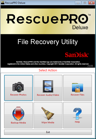 RescuePRO Deluxe for 0119;indows PC 6.0.2.7